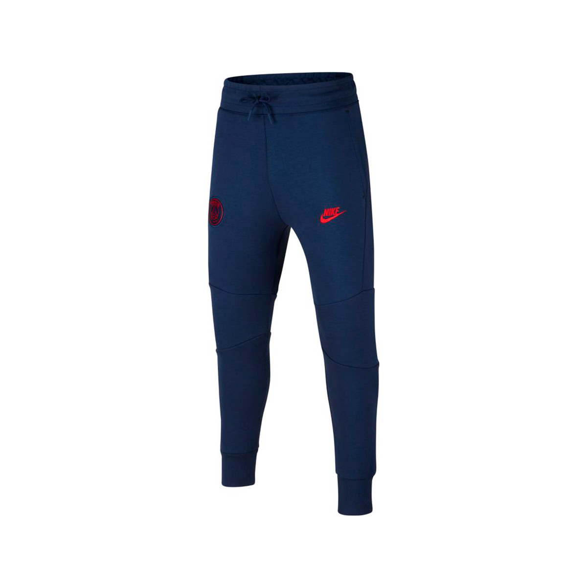 Long Pants Nike Paris Saint Germain Nsw Tech Fleece Cl 2019 2020 Nino Midnight Navy University Red Football Store Futbol Emotion