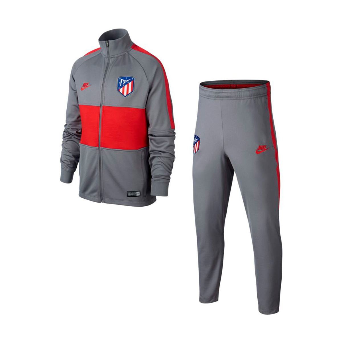 Puntuación incompleto Sabroso  Survêtement Nike Atletico de Madrid Dry Strike 2019-2020 Enfant  Gunsmoke-Sport red - Boutique de football Fútbol Emotion