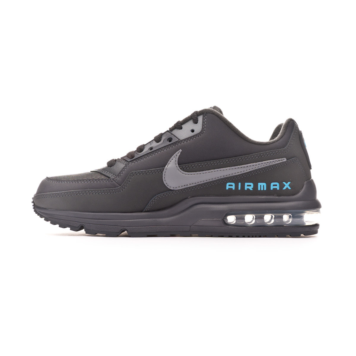 gobierno No haga retorta  Trainers Nike Air Max LTD III Anthracite-Cool grey-Light current blue -  Football store Fútbol Emotion