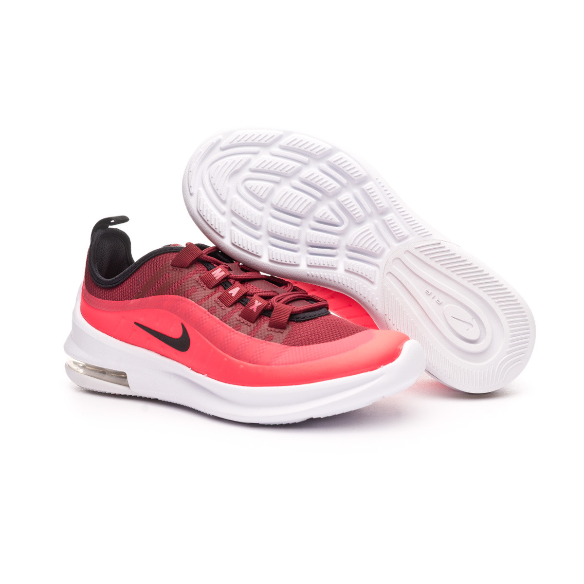 bota Plano Pedir prestado  Trainers Nike Air Max Axis Niño Team red-Black-Red orbit-White - Football  store Fútbol Emotion