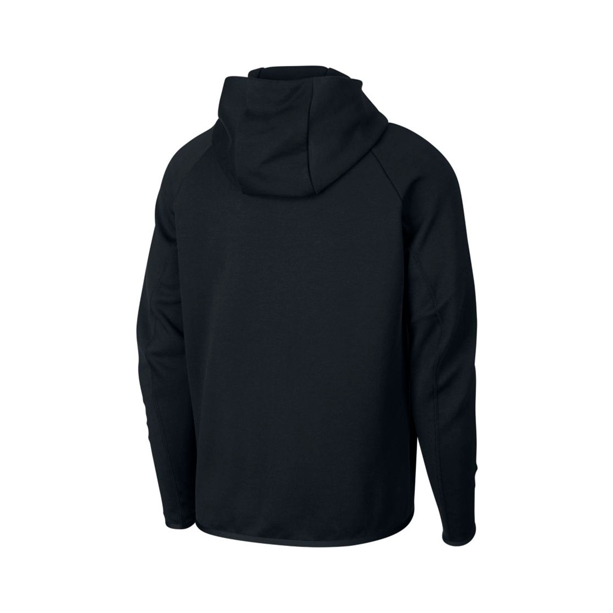 Aleta Joven concepto  Sweatshirt Nike Sportswear Tech Fleece Hoodie Black - Football store Fútbol  Emotion