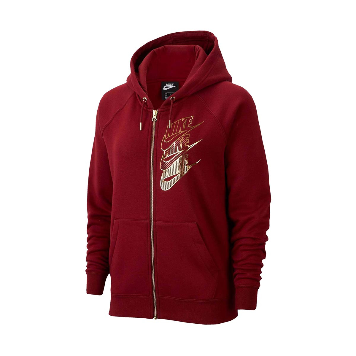 Nike NSW Hoodie FZ BB Shine Mujer Sweatshirt