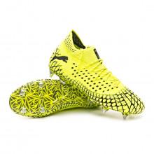 Football Boots Future 4.1 NETFIT MxSG Yellow alert-Puma black