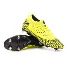 Football Boots Future 4.2 NETFIT MxSG Yellow alert-Puma black