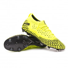 Football Boots Future 4.2 NETFIT FG/AG Yellow alert-Puma black