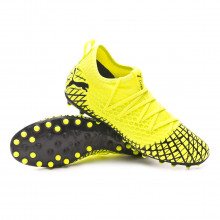 Football Boots Future 4.3 NETFIT MG Yellow alert-Puma black