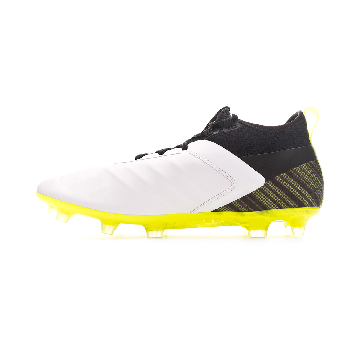 gå online otroliga priser eleganta skor Football Boots Puma One 5.2 FG/AG Puma white-Puma black-Yellow ...