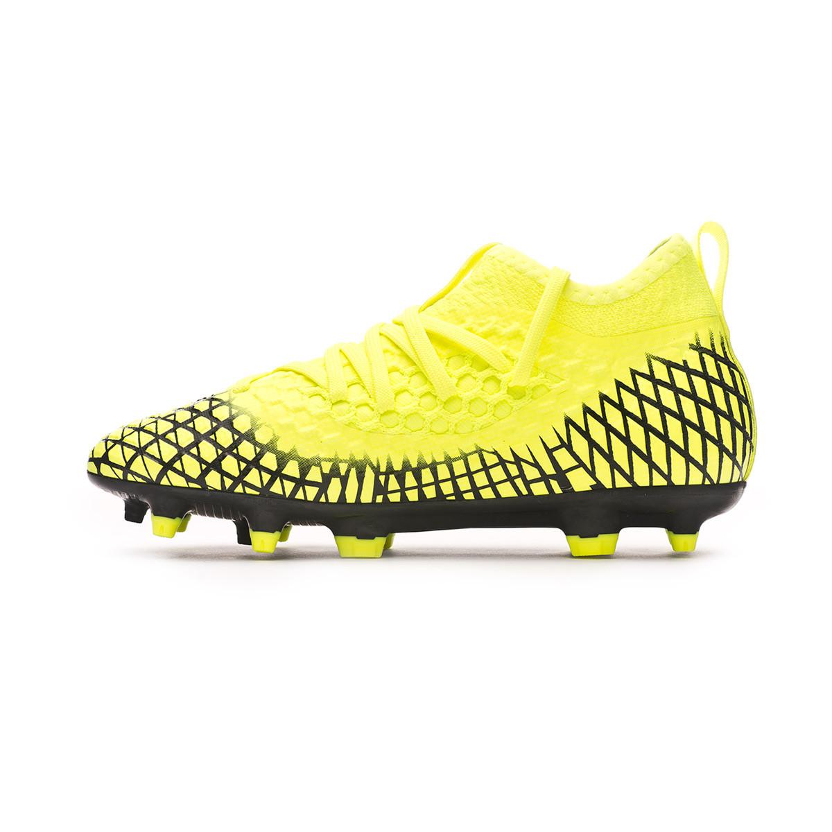 Storbritannien butik Storbritannien tillgänglighet Ganska nice Football Boots Puma Future 4.3 NETFIT FG/AG Niño Yellow alert-Puma ...