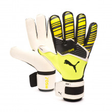 Luvas One Grip 1 RC Yellow alert-Puma black-Puma white