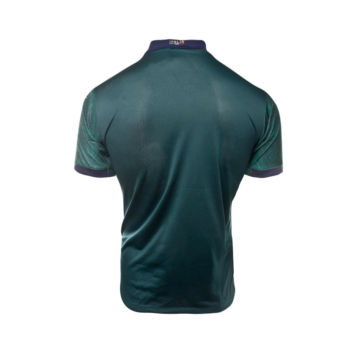 Prestigioso frijoles foso  Jersey Puma Italia Tercera Promo 2019-2020 Ponderosa Pine-Peacoat -  Football store Fútbol Emotion