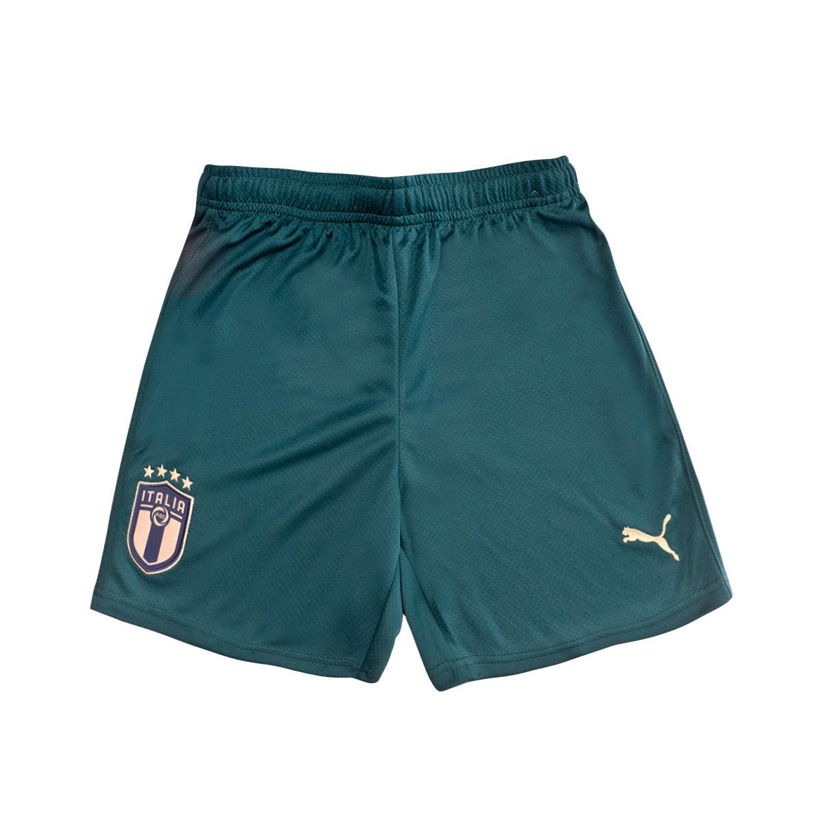 Con qué frecuencia Miguel Ángel Girar en descubierto  Shorts Puma Kids Italy 2019-2020 Third Ponderosa Pine-Peacoat - Football  store Fútbol Emotion