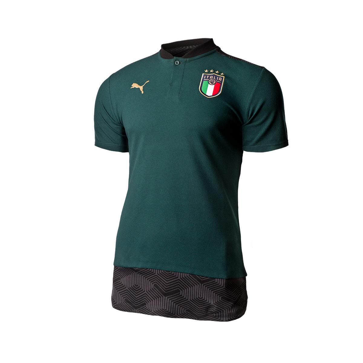 Tomar conciencia Fragante Pais de Ciudadania  Polo shirt Puma Italia Casuals 2019-2020 Ponderosa Pine-Peacoat - Football  store Fútbol Emotion