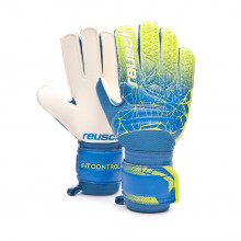 Glove Fit Control SG Niño Blue-Lime