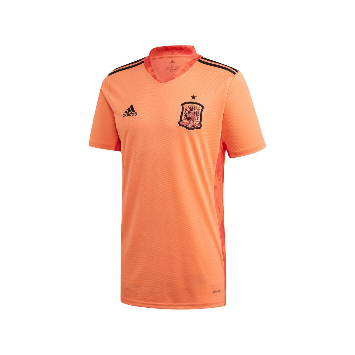 temporal Posicionar Y así  Camiseta adidas España Primera Equipación Portero 2019-2020 Easy orange -  Tienda de fútbol Fútbol Emotion