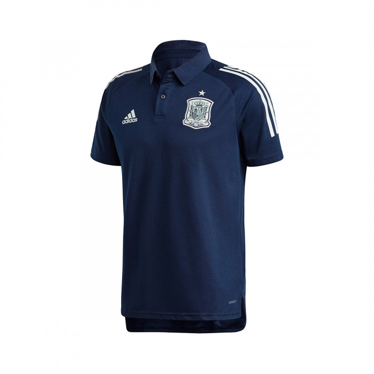 suficiente enfocar Janice  Polo shirt adidas España 2019-2020 Collegiate navy - Tienda de fútbol  Fútbol Emotion