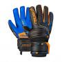 Guante Attrakt S1 Niño black / shocking orange / deep blue