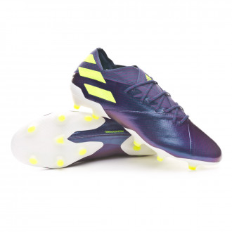NEMEZIZ MESSI 19.1 FG Tech indigo-Signal green-Glory purple