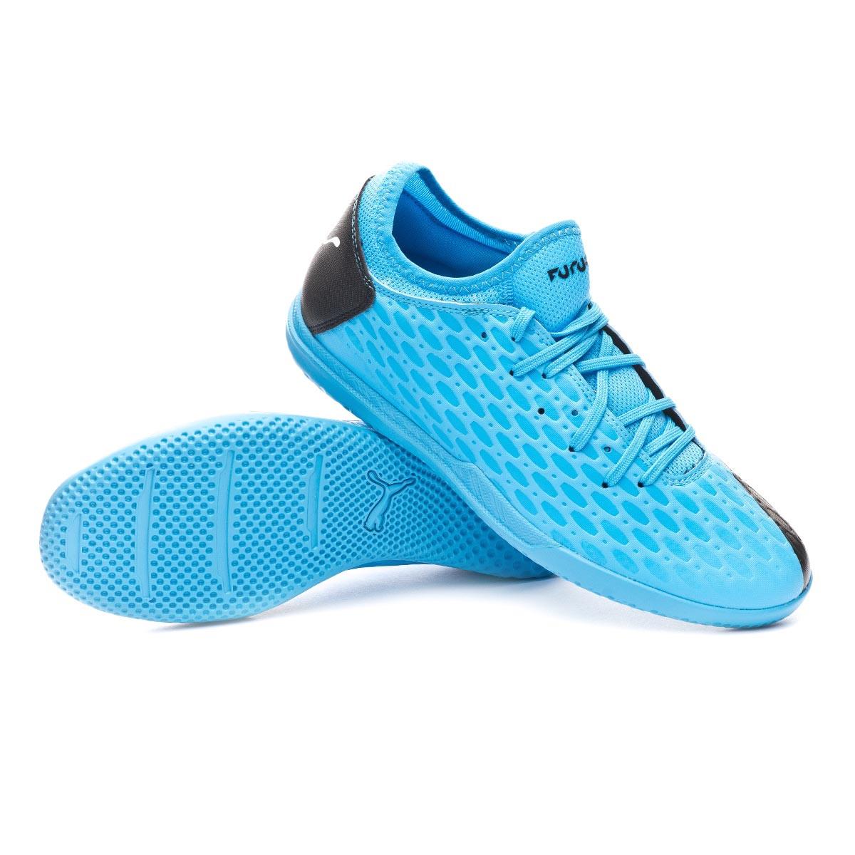 Futsal Boot Puma Future 5.4 IT Luminous Blue-Nrgy Blue-Puma Black ...