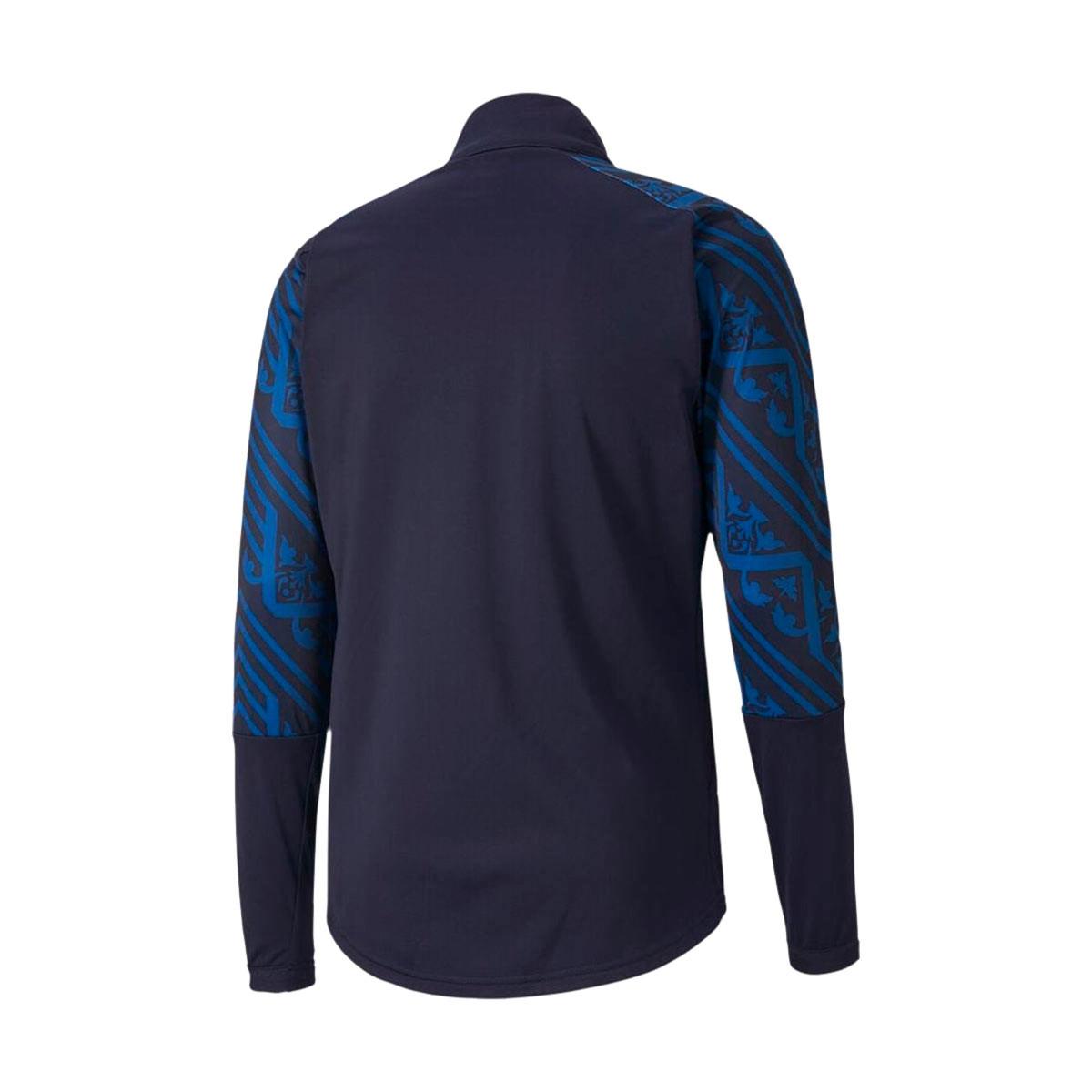 lanzador Bloquear Mariscos  Jacket Puma Italia Stadium Segunda Equipación 2019-2020 Peacoat-Team Power  Blue - Football store Fútbol Emotion