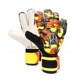 Glove Initial Flat Kids Orange
