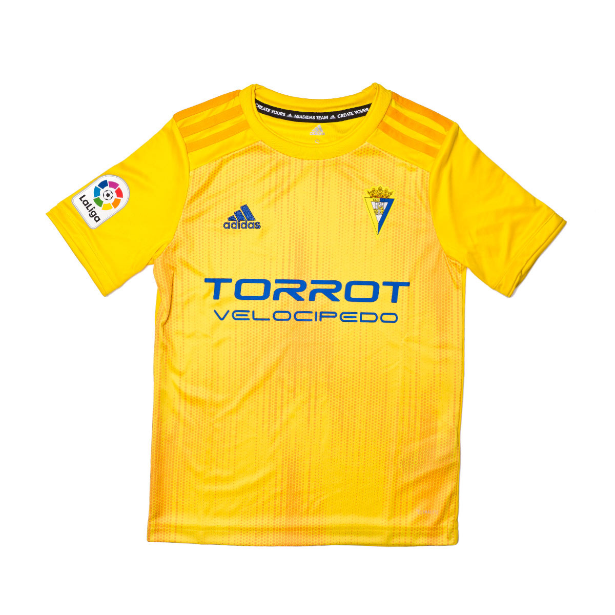 adidas Kids Cadiz FC 2019-2020 Home Jersey