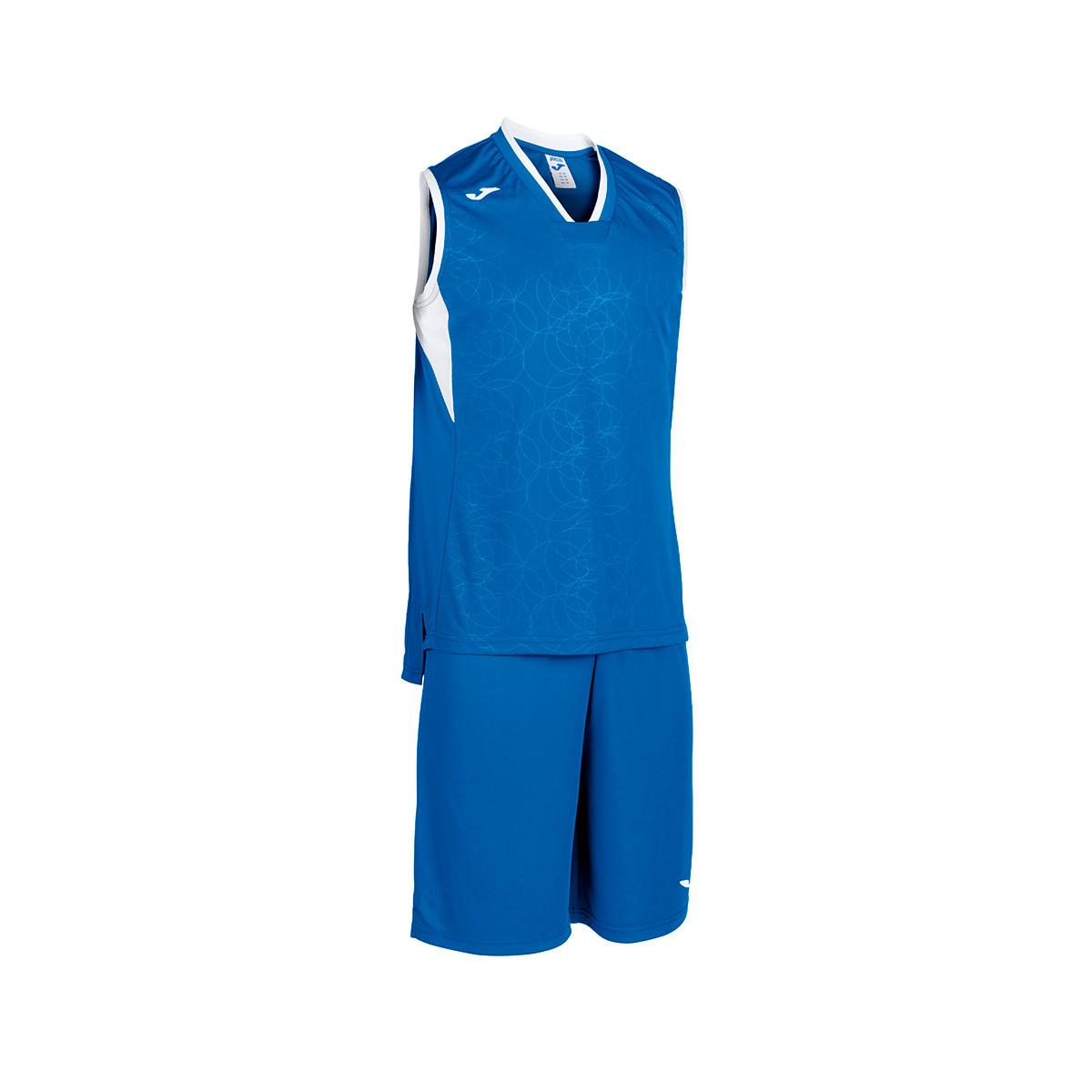 en venta Venta de descuento 2019 último clasificado Kit Joma Basket Campus s/m Royal-White - Football store Fútbol Emotion