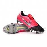 Chaussure de foot Phantom Venom Elite SG-PRO Anti-Clog Traction Laser crimson-Metallic silver-Black
