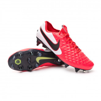 Tiempo Legend VIII Elite SG-PRO Anti-Clog Traction Laser crimson-Black-White