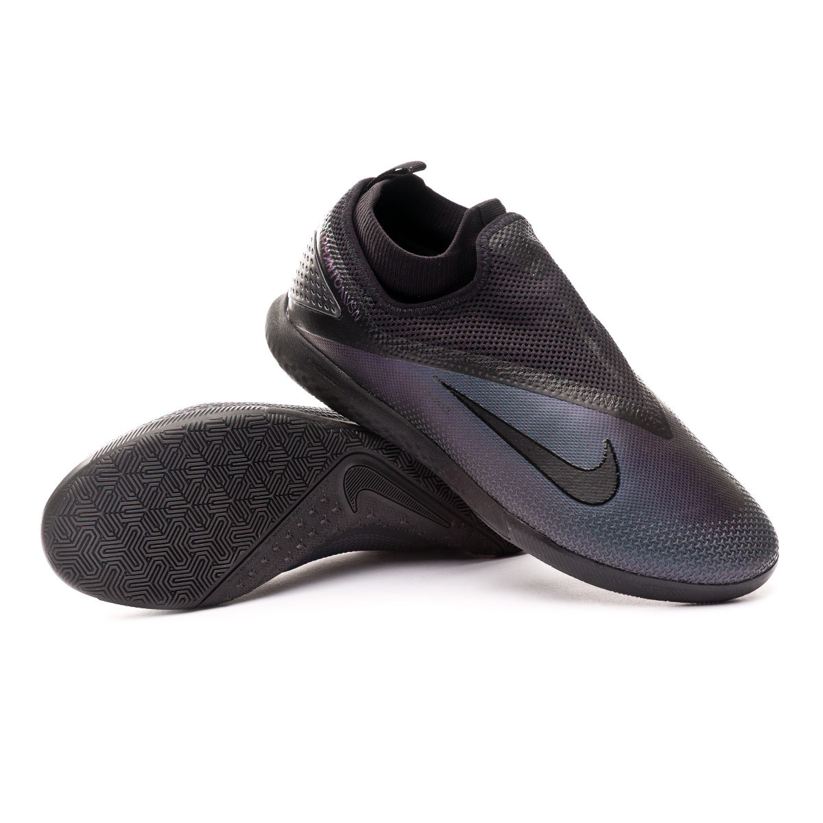 Brote Avanzar Resentimiento  Futsal Boot Nike React Phantom Vision II Pro DF IC Black - Football store  Fútbol Emotion
