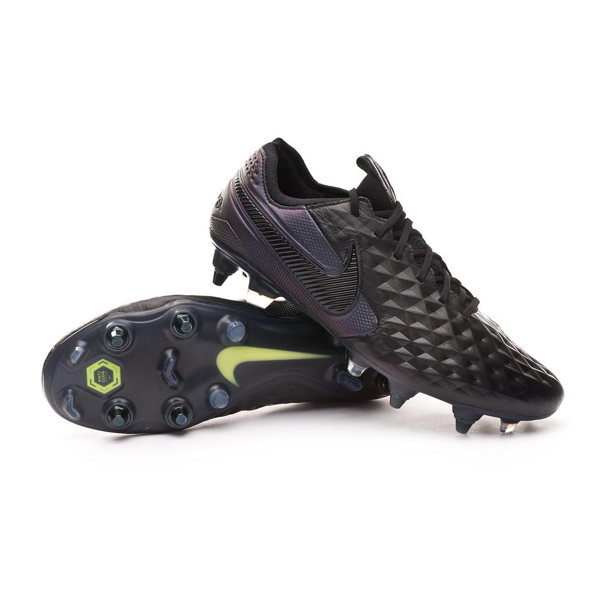 juguete director Glamour  Football Boots Nike Tiempo Legend VIII Elite SG-PRO Anti-Clog Traction Black  - Football store Fútbol Emotion