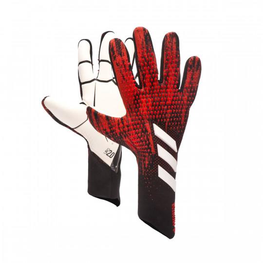 Tina cinta Inclinarse  Guante de portero adidas Predator Pro Black-Active red - Tienda de fútbol  Fútbol Emotion