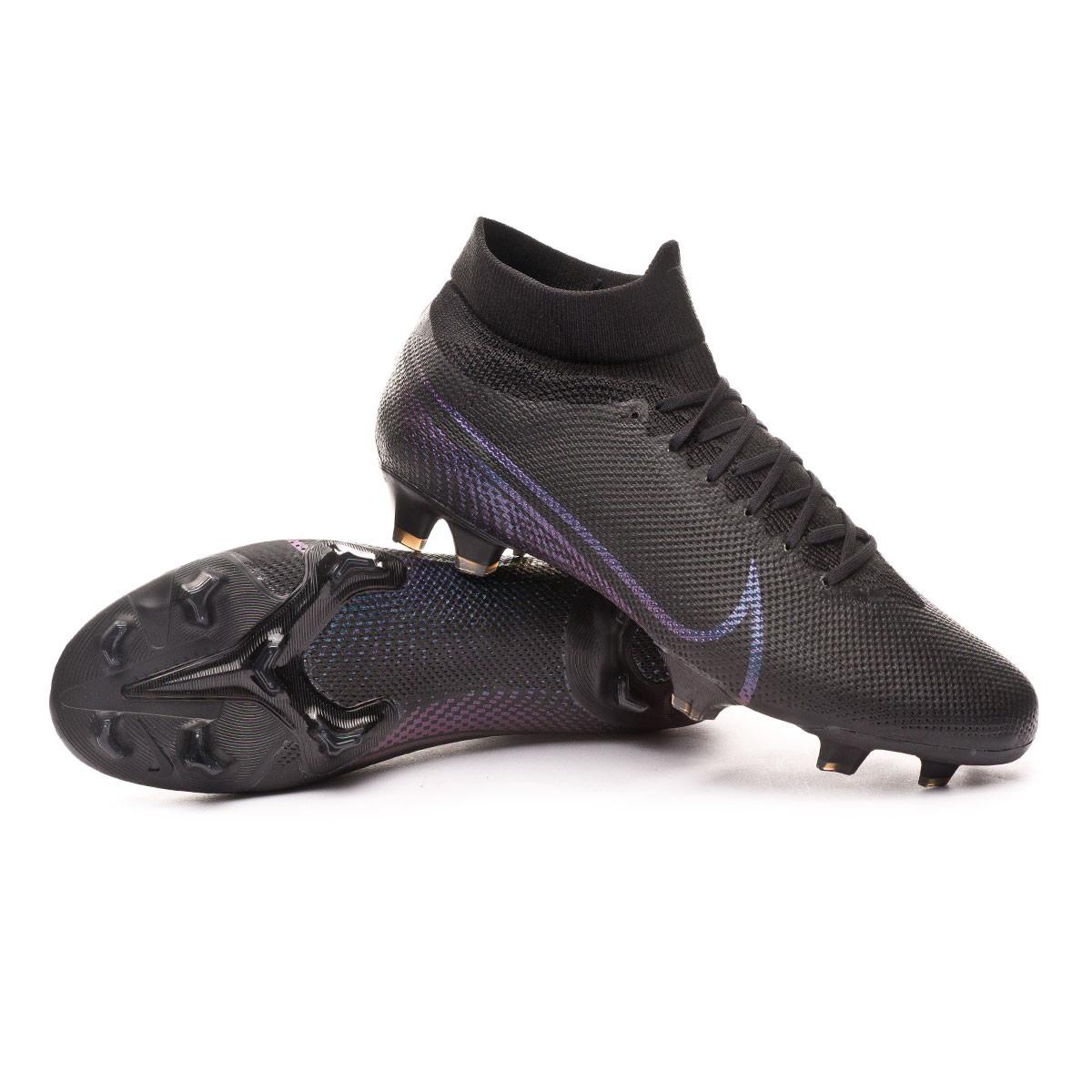 nike football boots mercurial black