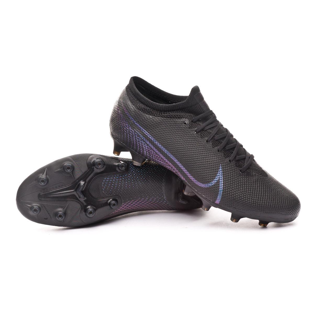 alfiler Respeto a ti mismo Arturo  Football Boots Nike Mercurial Vapor XIII Pro AG-PRO Black - Football store  Fútbol Emotion