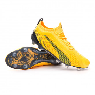 One 20.1 FG/AG ULTRA YELLOW-Puma Black-Orange Alert