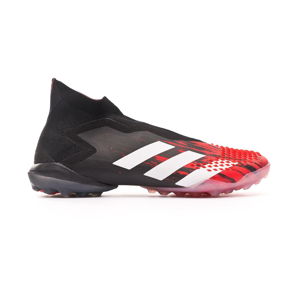 antecedentes Bonito Empuje hacia abajo  Football Boot adidas Predator 20+ Turf Core black-White-Active red -  Football store Fútbol Emotion