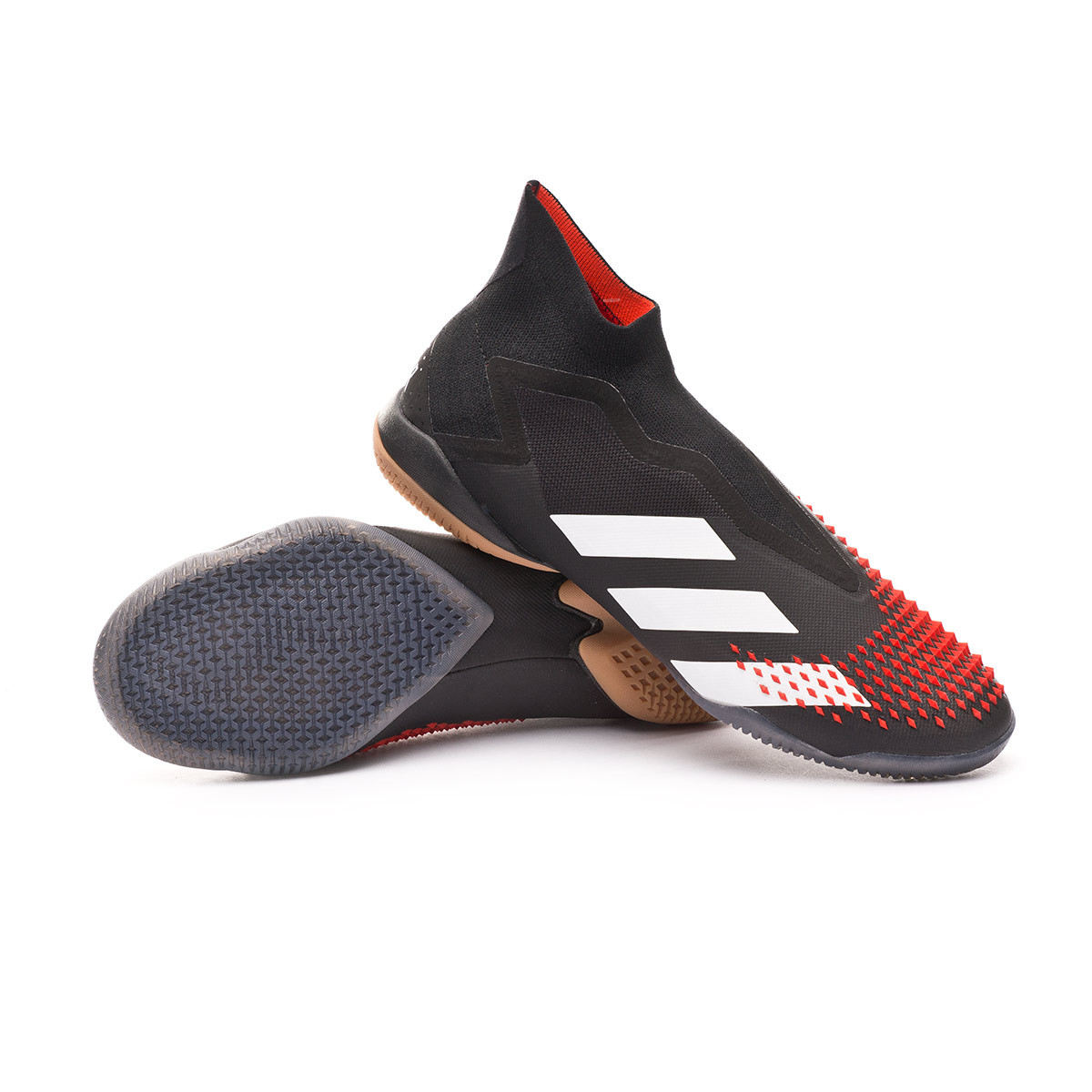 ordenar Dinamarca Es decir  Futsal Boot adidas Predator 20+ IN Core black-White-Active red - Football  store Fútbol Emotion