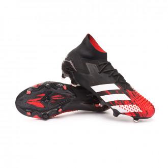 Predator 20.1 FG Core black-White-Active red