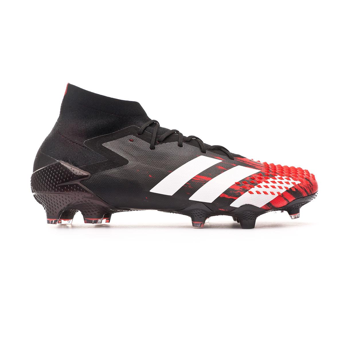 Cornualles Deliberadamente ligero  Football Boots adidas Predator 20.1 FG Core black-White-Active red -  Football store Fútbol Emotion