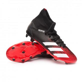 Predator 20.3 FG Black-White-Active red