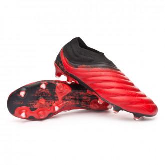 Copa 20+ FG Active red-White-Core black