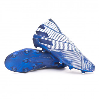 Nemeziz 19+ FG White-Team royal blue