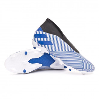 Nemeziz 19.3 LL FG White-Team royal blue-Black
