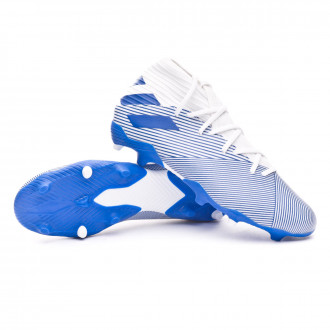 Nemeziz 19.3 FG White-Team royal blue