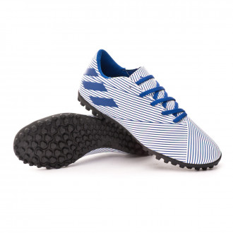 Nemeziz 19.4 Turf White-Team royal blue-Black