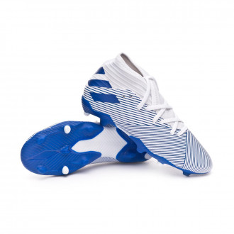 Nemeziz 19.3 FG Bambino White-Team royal blue