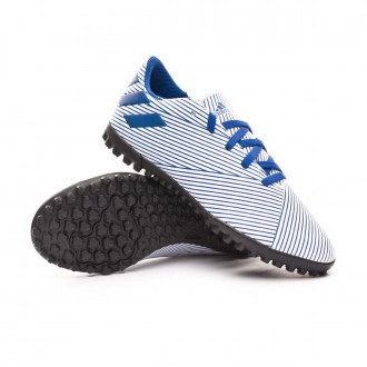 Nemeziz 19.4 Turf Niño White-Team royal blue-Black