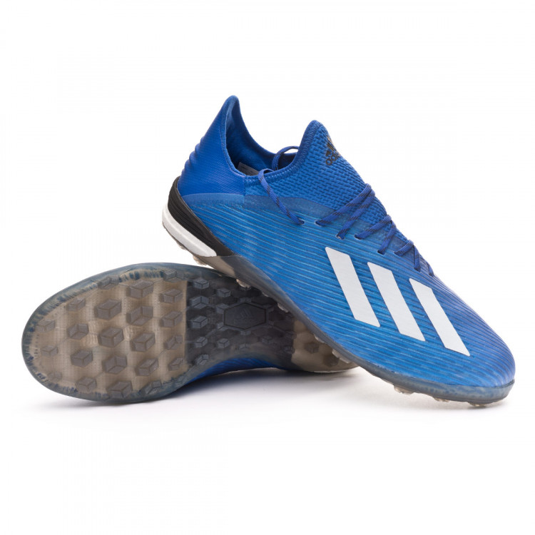 Adversario gerente interno  Football Boot adidas X 19.1 Turf Team royal blue-White-Core black -  Football store Fútbol Emotion