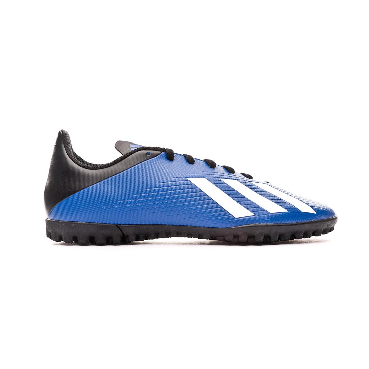 No hagas blusa Intacto  Football Boot adidas X 19.4 Turf Team royal blue-White-Black - Football  store Fútbol Emotion
