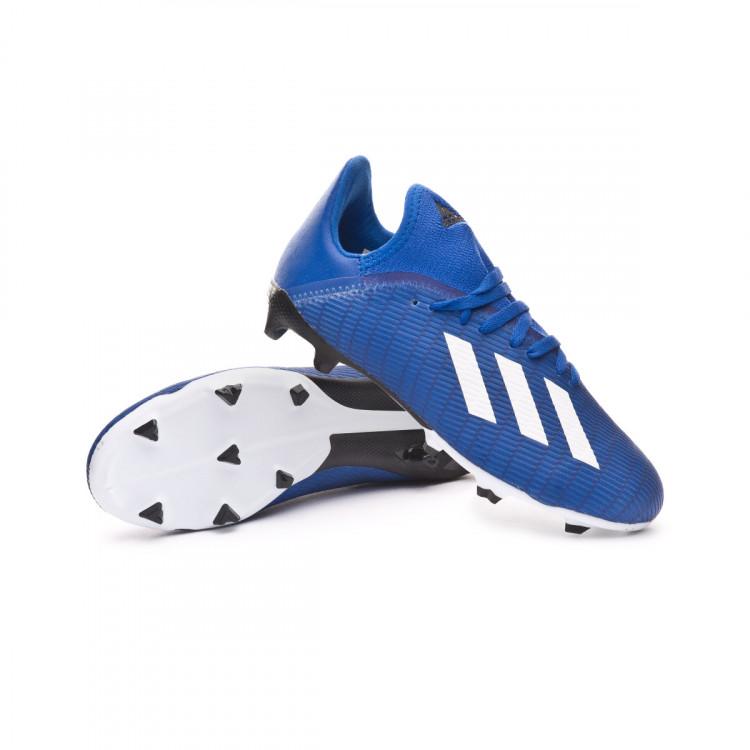 Chaussure de foot adidas X 19.3 FG Enfant Team royal blue