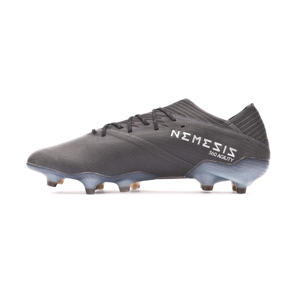 disfrute del envío de cortesía nuevo estilo de 2019 últimas tendencias de 2019 Football Boots adidas Nemeziz 19.1 FG Core black-Solid grey ...